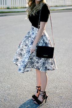 Chicwish Skirt | A Daydream Love