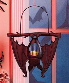 Bat Shaped Metal Hanging Lanterns #LTDCommodities