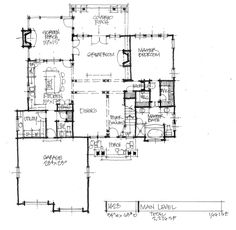 New House Plan on the Drawing Board-1428 is a narrow two-story design with a compact floor plan. See the second floor plan on our house plans blog! http://houseplansblog.dongardner.com/conceptual-home-design-1428-compact-two-story/#more-7292. #HousePlansBlog #HomePlan #TwoStory