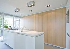 Moderne appartement met een doorlopende open ruimte