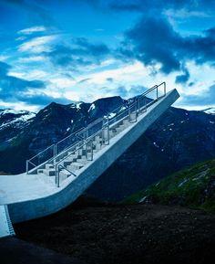 Mirador Utsikten en montala Gaular, Balestrand, Noruega - Code Arkitektur - © Einar Aslaksen
