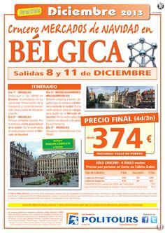 """Cru. Fluvial BÉLGICA """"Mercados de Navidad"""", salidas 8 y 11/12 (4d/3n) p.f desde 374€ -solo crucero ultimo minuto - http://zocotours.com/cru-fluvial-belgica-mercados-de-navidad-salidas-8-y-1112-4d3n-p-f-desde-374e-solo-crucero-ultimo-minuto/"""