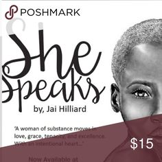 """""""SheSpeaks"""" books on www.dopepublishing.com  By Jai Hilliard books as Gift this Christmas ❤️ Other"""