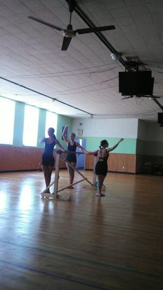 Photo from yesterday's ballet class taught by Amy Jones