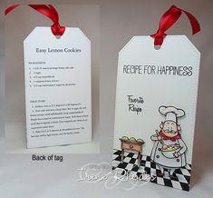 Recipe for Happiness Tag by  DandI93. #EllenHutsonLLC #TwelveTagsofChristmasWithaFeminineTwist