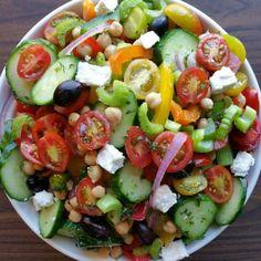Chop-Chop Fresh Veggie Salad