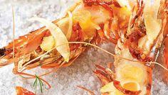 Découvrez notre recette de crevettes géantes sur gros sel pour 4 personnes. Une recette de difficulté 1 sur 4 préparée en 20 min (cuisson : 8 min)