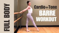 7 Low-Space, No-Equipment Barre Workouts to Ignite That Sweet, Sweet Burn in Every Muscle Pilates Abs, Pilates Training, Pilates Video, Pilates Workout, Pilates Reformer, Barre Workout Video, Cardio Barre, 20 Minute Workout, Barre Fitness