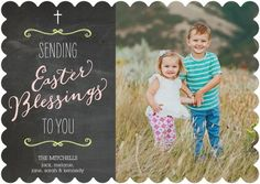 Blessed Chalk - #Easter Cards - Magnolia Press - Flint Gray #TopPin