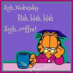 Lol, at least it's the middle of the week ; Wednesday Coffee, Wednesday Hump Day, Happy Wednesday Quotes, Wednesday Humor, Its Friday Quotes, Happy Quotes, Funny Quotes, Hump Day Quotes, Weekend Quotes