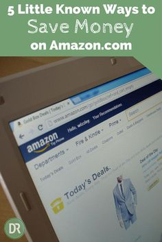 Do you like shopping at Amazon? Do you also like savingmoney? If so, here are 5 little known ways to save when you're shopping on Amazon.com!