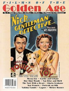 Myrna Loy & William Powell - Films of the Golden Age Winter 95/96