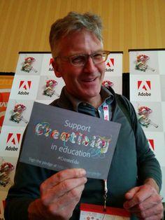 John Wensman supports #CreateEDU. Do you? http://edex.adobe.com/pledge