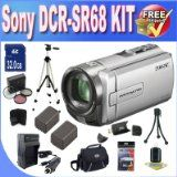 Sony DCR-SR68 80GB Hard Disk Drive Handycam Camcorder + 32GB SDHC Memory +2 Extended Life Batteries+ Ac/Dc Rapid Charger + 3 Piece Filter Kit + USB Card Reader + Memory Card Wallet + Deluxe Case + Full Size Tripod + Accessory Saver Bundle! - http://onlinedigitalcamerasreviews.com/sony-dcr-sr68-80gb-hard-disk-drive-handycam-camcorder-32gb-sdhc-memory-2-extended-life-batteries-acdc-rapid-charger-3-piece-filter-kit-usb-card-reader-memory-card-wallet-deluxe-case-ful/
