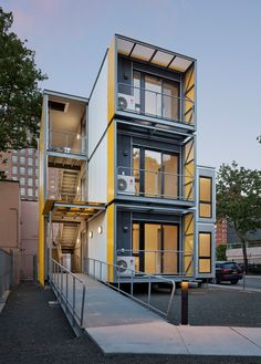 "Modular New York homes by Garrison Architects ""create a blueprint for post-disaster housing"""