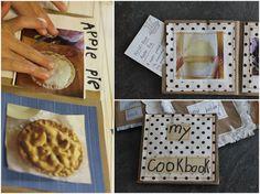 DIY Kid's Mini Cookbook