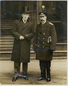 Woodrow Wilson and King George V