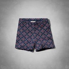 Womens Micah Ponte Shorts | Womens Shorts | Abercrombie.com