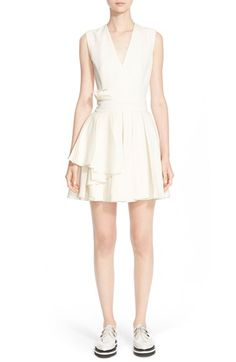 Alexander McQueen Fold Pleat Wool Dress available at #Nordstrom