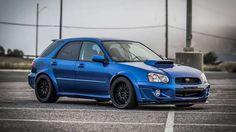 Subaru Impreza WRX Estate.