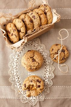 Oatmeal Chocolate Chip Cookies with Flax, Chia and Hemp Seeds - It can't be better than this by Yelena Strokin, via Flickr