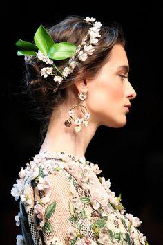 Dolce & Gabbana Flower Child. xx Dressed to Death xx #accessories #jewelry #fashion #style #art