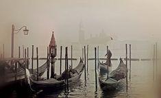 Die Gondel. Die Gondeln. Die Gondeln von Venedig.