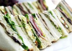 20 Ideas for Sandwich Fillings- Not everyone who eats sandwiches is of school age of course, so this list of twenty sandwich ideas is big and meaty enough for blokes to take to work and dainty enough for pernickety kindy palates. Somewhere in this lot, there might be a combination that leads children away from their constant request of Devon with Tomato Sauce Cut Into Triangles Please.