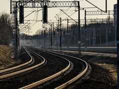 Tracks to the light - Newly built tracks....