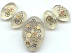 Tick Tock Resin Beads | by Wendy lee Hearn