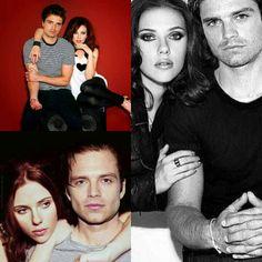 Sebastian Stan and Scarlett Johansson - edit I made