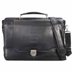 MicroTek 15 Laptop Computer Saddle Briefcase Bag Gray