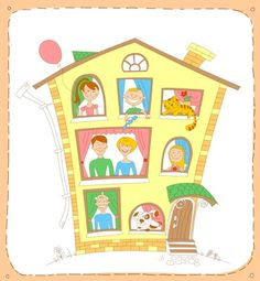 Large Families Living in Small Houses blogpost