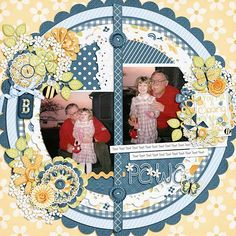 Layout using {You Put a Spring in My Step} Digital Scrapbook Kit by Just So Scrappy http://store.gingerscraps.net/You-Put-A-Spring-In-My-Step-Digital-Scrapbook-Collection.html