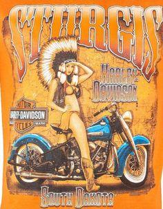HARLEY-DAVIDSON GENUINE MOTOR BIKE LADIES RED SHORT SLEEVE T-SHIRT BN £10 !!