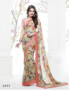 BRAND vishal Floret vishal saree at wholesale price  NO. OF PIECES 15  AVERAGE PRICE MENTIONED ON LAST PICTURE  CATLOG PRICE ON PRICE LIST PICTURE + Shipping  FABRIC  GEOR