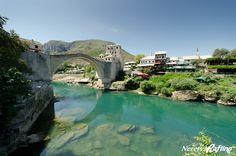 The Old Bridge in Mostar, Bosnia