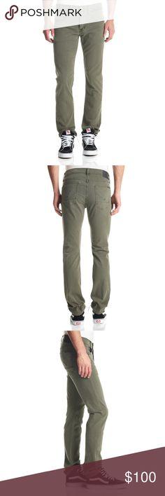 NWT Hudson Byron Straight Leg Olive Green Jeans 32 NWT Hudson Byron Straight Leg Olive Green Jeans 32 Hudson Jeans Jeans Straight