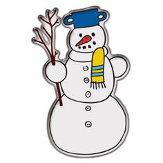 Snow stickers