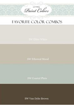 Interior paint colors that go together