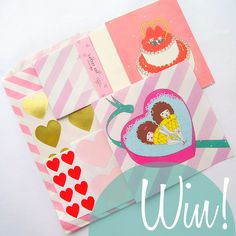 Omiyage Blogs: Send Pretty Mail #3 - A Giveaway