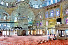 The Blue Mosque (Called Sultanahmet Camii in Turkish) was built by Sedefkar Mehmet Aga in the sultan Ahmet's time between years. Turkey Photos, Istanbul Travel, Blue Mosque, Turkey Travel, Beach Hotels, Historical Sites, The Guardian, The Good Place, Taj Mahal
