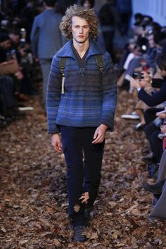 Missoni Fall 2016 Menswear Fashion Show