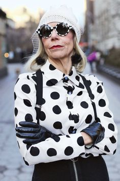 These Older Women Have Truly Badass Style via @WhoWhatWearUK