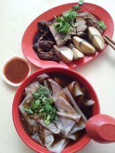 Singapore Food - 呀侖街粿汁Garden Street Kway Chap #Singapore #Food