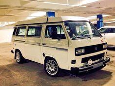 #VW #vanagon #westfalia #Volkswagen #vanagonlife #vanagonlove #hippielife #hippievan #glamping #camping Volkswagen Westfalia Campers, Volkswagen Transporter T4, Vw T3 Camper, Vw Bus T3, Camper Interior, Busses, Car Travel, Van Life, Vw Vans