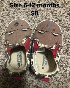 Infant shoes  Size 6-12 months. Boys Gender Neutral Bear Shoes   258d79525