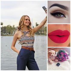 Outfit and make up very cool and nice  :  http://ift.tt/20UAuuv http://ift.tt/1MDtyLA