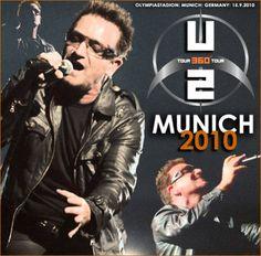 U2 -360° Tour -Olympic Stadium-Munich Allemagne 15/09/2010