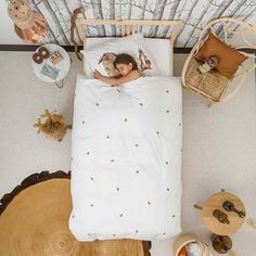 Snurk Beddengoed Dekbedovertrek FURRY FRIENDS katoen 140x220cm